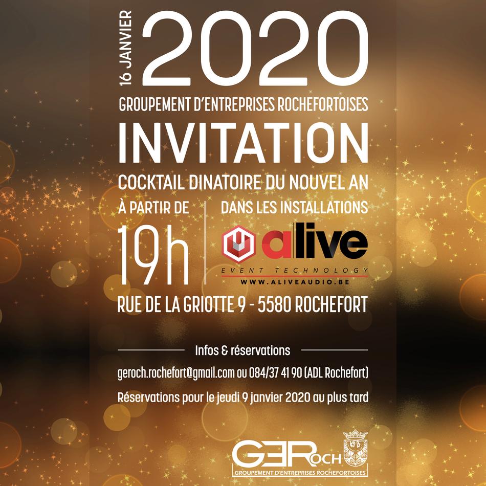 Invitation voeux GEROCH 2020