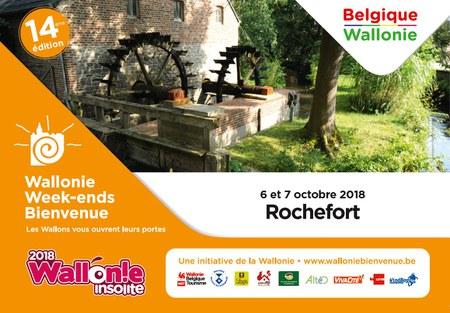 Wallonie Week-end Bienvenue 2018